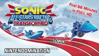 WiiU - Sonic & All-Stars Racing Transformed - 66 Minutes Gameplay