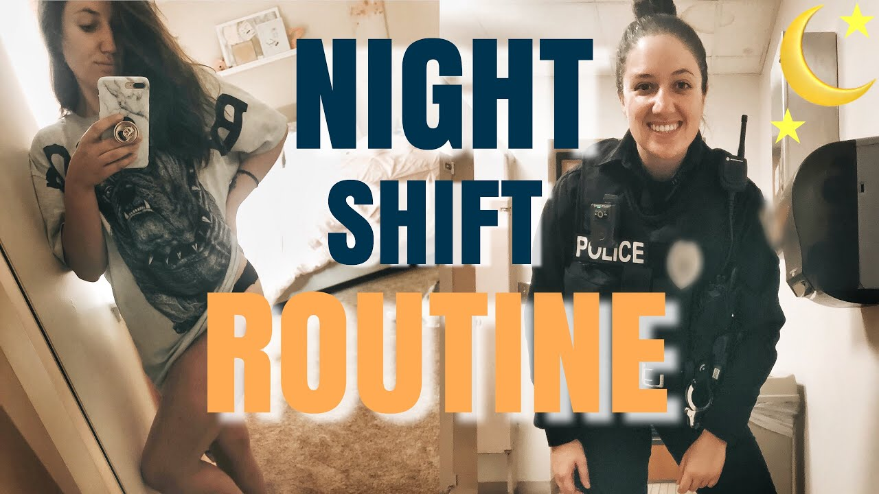 Download NIGHT SHIFT POLICE OFFICER ROUTINE | DAY IN THE LIFE | Stefanie Rose