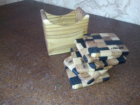 Original product from waste wood