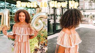 sweet 16 glow up transformation | i dyed my hair + Sephora makeover (birthday vlog)