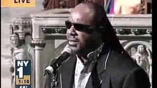 Stevie Wonder at Luther Vandross