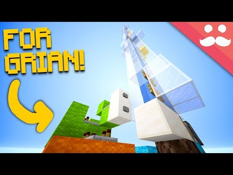 Making An ELEVATOR FOR GRIAN In Minecraft 1.13!