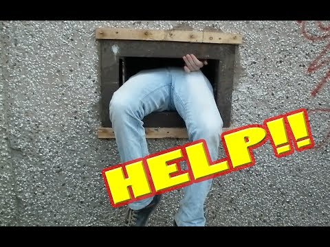 DOES HE GET STUCK?  | Abandoned: Tesco