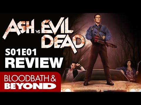 Ash Vs Evil Dead S01E01 - Horror TV Show Review