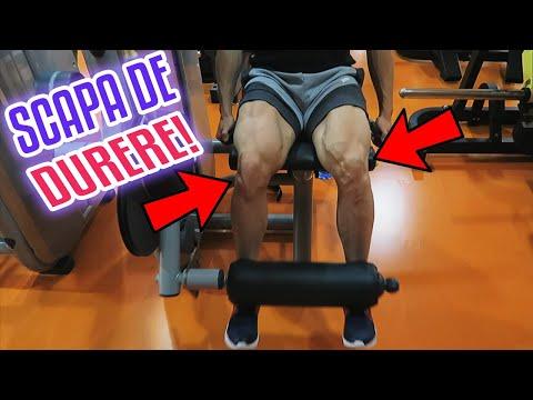face clic pe articulații în genunchi