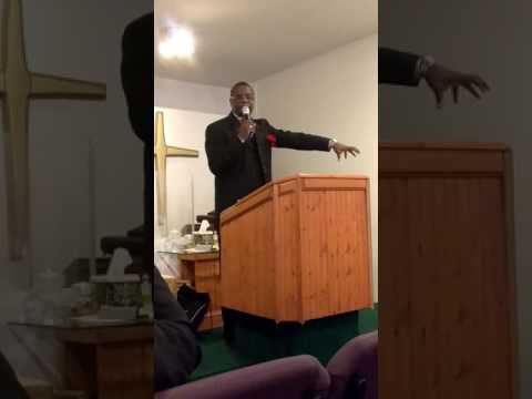 Pastor Jerome Allen Bell at the Temple Of Praise And Worship