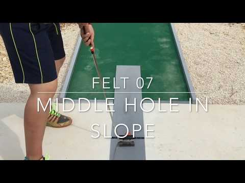 Felt Lane 7 - Middle Hole in Slope (World Championships 2017)