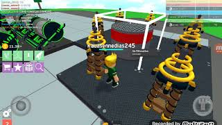 Jogando com meus amigos no roblox ( Upd! Nuclear Plant Tycoon)