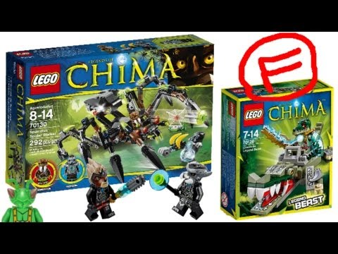 LEGO Legends of Chima 2014 RANT: Worse than the 2013 sets?