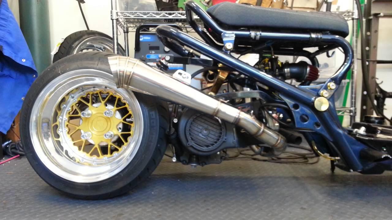 dorbyworks gy6 gp over custom exhaust