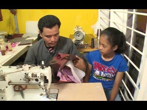 Proses Pembuatan Tas Anti Air di Surabaya