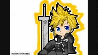 How to draw chibi cloud from Final fantasy