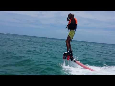 """Stromae""flyboard show In Koh Samui Lamai Beach"