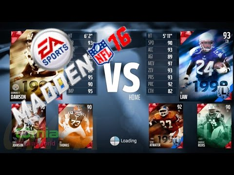 Ty Law, Steve Atwater, Darrelle Revis Same Team! Madden 16 Draft Champions Gameplay Ep. 43