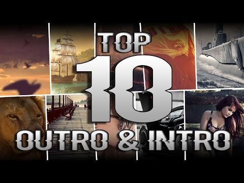 Top 10 Intro/Outro Songs & Drops Non-Copyrighted 2016 HD