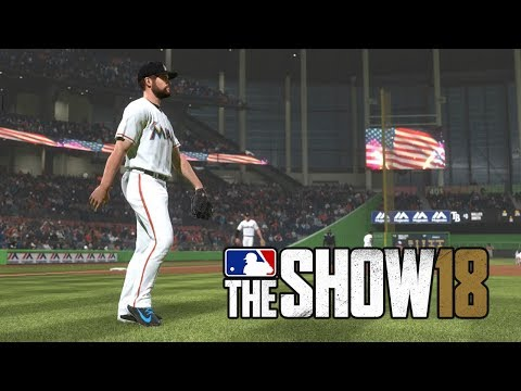 MLB 18 The Show Tampa Bay Rays vs Miami Marlins (MLB The Show 18  Gameplay)