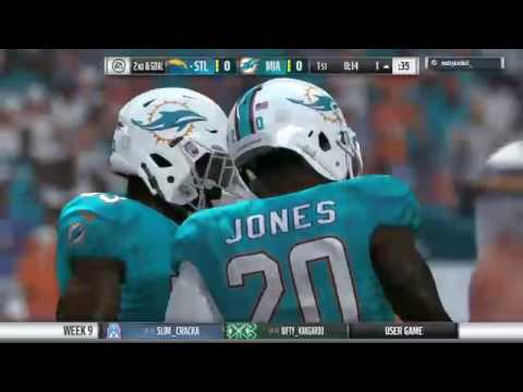 Chargers at Dolphins