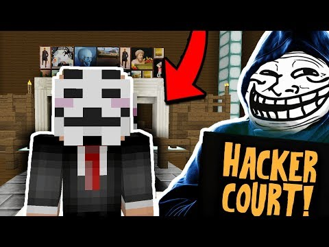 HACKER GOES TO MINECRAFT COURT!! I'M THE JUDGE!! - OWNER CATCHING HACKERS! EP62