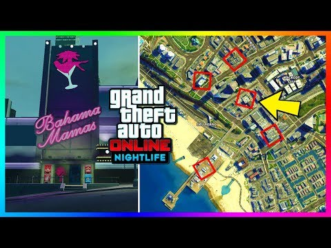 GTA Online ALL 22 Nightclub/Club Locations To Buy & Own In The NEW GTA Online Update! (GTA 5 DLC)