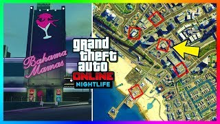 GTA Online ALL 22 Nightclub/Club Locations To Buy & Own In The NEW GTA Online Update! (GTA 5 DLC)