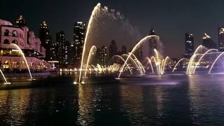 Dubai Fountain with Chinese Music ❤ Take me to your heart
