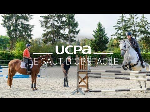 Tutoriel équitation UCPA N°9 - Comment bien sauter un obstacle