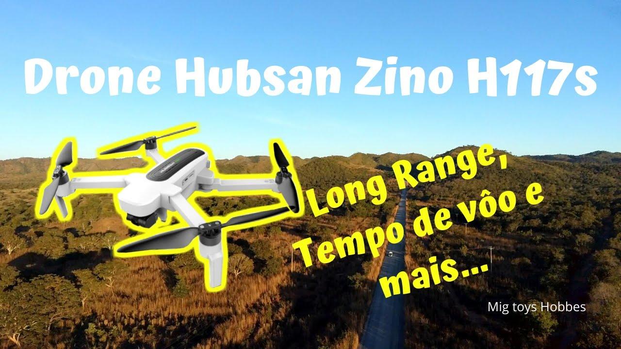 Download Drone Hubsan Zino H117s Long Range, tempo de vôo e mais...