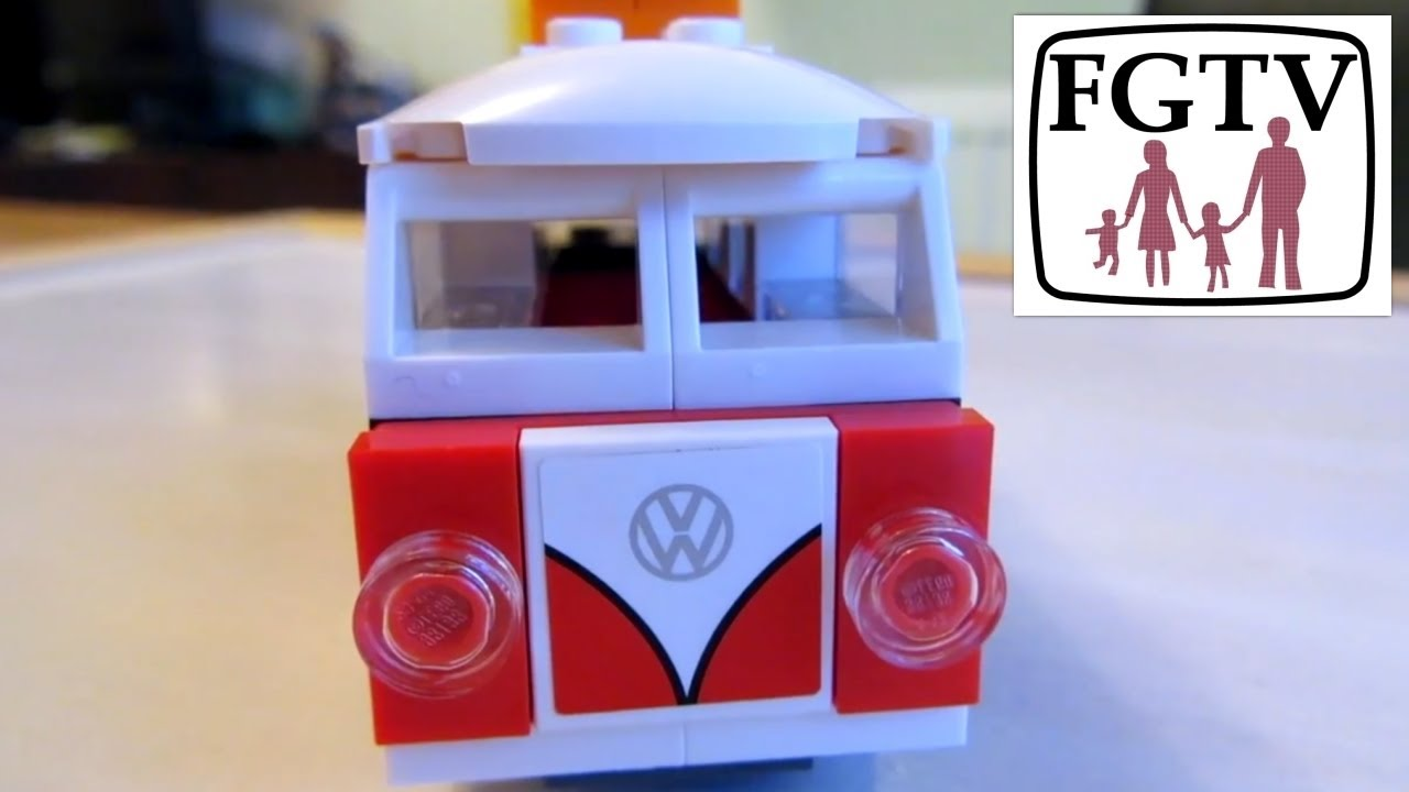 lego creator 40079 mini vw t1 camper van review build and. Black Bedroom Furniture Sets. Home Design Ideas