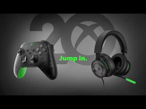 Announcing the 20th Anniversary Special Edition Xbox Wireless Controller and Xbox Stereo Headset