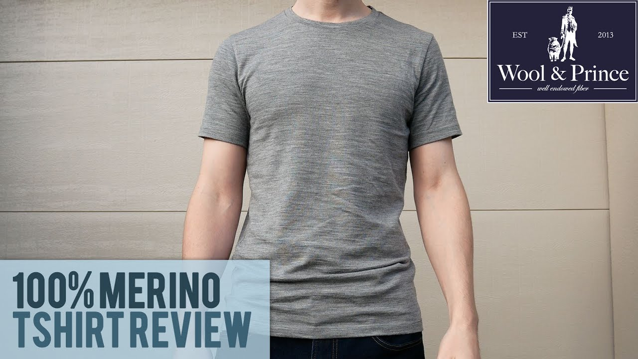 Wool And Prince 100 Merino Tshirt Review Youtube