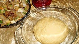 Тесто для пирога дрожжевое  Пошаговый рецепт с фото