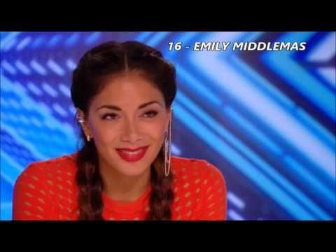 TOP 20 Best Auditions X Factor  2016 !