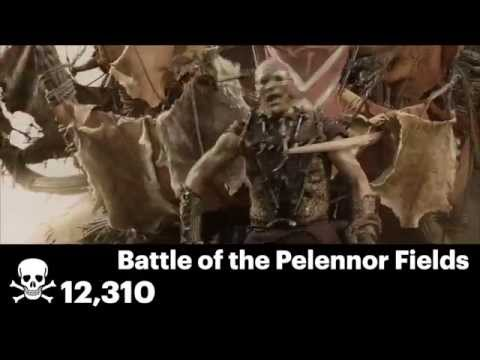"""Every On-Screen Death In The """"Lord Of The Rings"""" Trilogy, In Under 7 Minutes"""