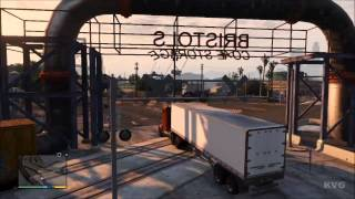 Grand Theft Auto 5 - Big Rig Truck Driving Gameplay [HD]