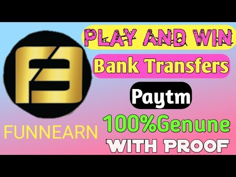 FUNNEARN Apk || How To Earn Free Paytm Cash || Earn By Playing Simple Game