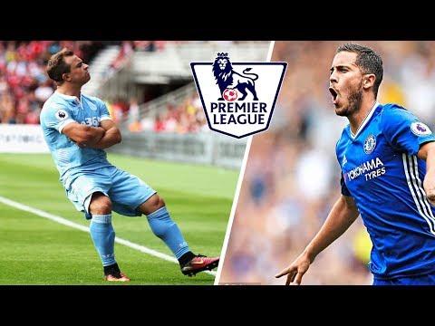 Najpiękniejsze Bramki Premier League 2016/17 (PL KOMENTARZ)