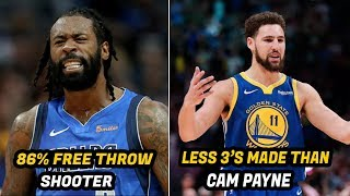 5 of the Weirdest NBA Stats of the 2019 Season So Far