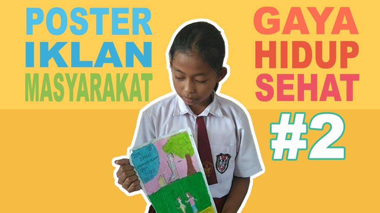 Pembelajaran K13 Kelas 5 Poster Iklan Masyarakat Bag 2 Youtube