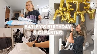 BAILEY'S 1ST BIRTHDAY! Cute Amazon Haul & Huge Clean With Us
