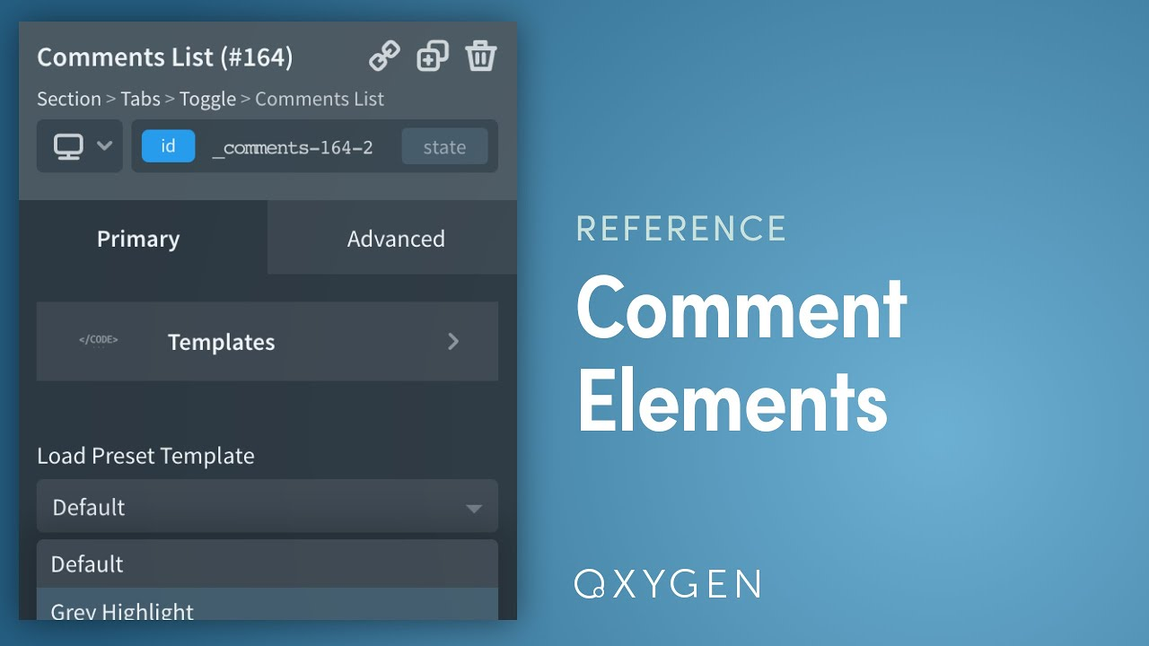 How To Add Comment Form and Comments List To Blog / Post Layouts with Oxygen