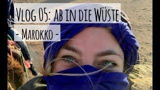 Vlog 05 Marokko: Mit dem Kamel durch die Wüste
