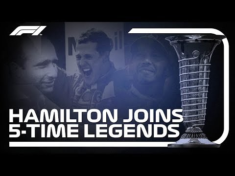 Hamilton, Schumacher and Fangio: Five-time Champions Mp3