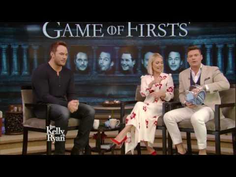 "Chris Pratt Plays ""Game of Firsts"""