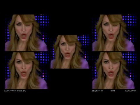 Madonna - Sorry (Remix)[Confessions Tour Backrop Early Version]
