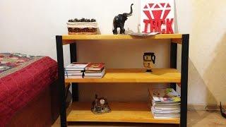Как сделать книжный шкаф из стальных углов / How to make a DIY Bookcase out of angle irons(, 2016-09-22T08:28:18.000Z)