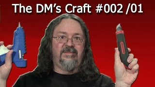 Craft Your Own Cave Tiles Quickly And Cheaply For D&d (the Dm's Craft, Ep 2, P1)