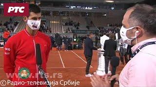 Novak za RTS: Nisam uspeo da pronađem igru, a Rafa je odigrao perfektan meč