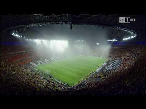 Euro 2012 - temporale spaventoso aDonetsk, Francia - Ucraina sospesa dopo 5 minuti