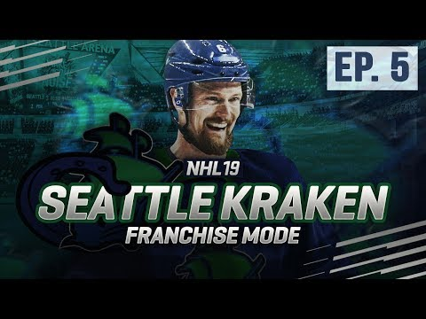 NHL 19: EXPANSION FRANCHISE - SEATTLE KRAKEN SEASON 5