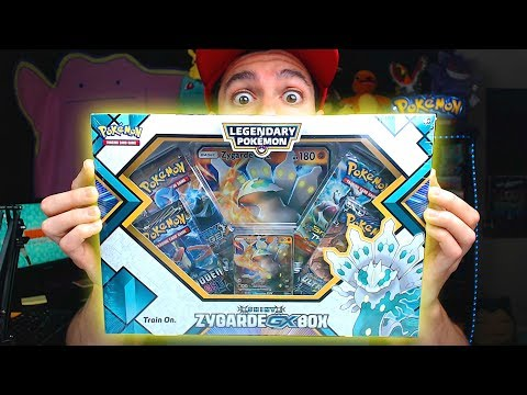 NEW POKEMON OPENING Shiny Zygarde Box! (Never Before Seen Card!)